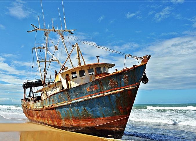 Natal-rn Ship Mar Castaway Boat Sky