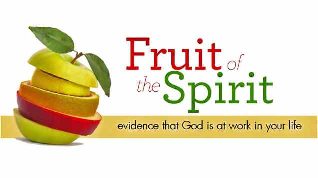 fruit of the spirit evidence